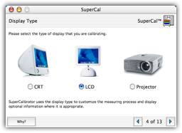 SuperCal - The Best Visual Display Calibrator for the Mac